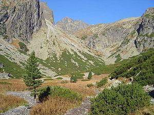 Geology of the Western Carpathians - Malá Studená Valley in the Tatras