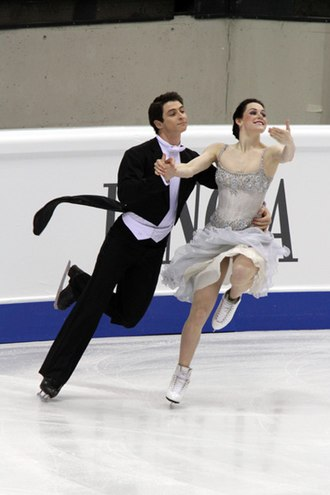 Compulsory dance - Tessa Virtue and Scott Moir performing the Golden Waltz