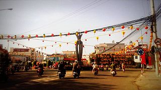 Lái Thiêu Ward in Southeast, Vietnam