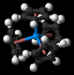 Tetrakis(cyclopentadienyl)uranium(IV) - Image: Tetrakis(cyclopentad ienyl)uranium(IV) 3D balls