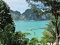 Thailand, Phi-Phi, Tonsai Bay - panoramio.jpg