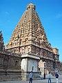 Thanjavur Brihadishvara Temple north east view.jpg