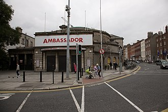 Cinema of Ireland - The Ambassador Cinema was in use, on and off, as a cinema from about 1910 to 1999, and is now a music venue at the top of O'Connell Street, Dublin.