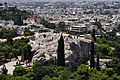 The Areopagus from the Acropolis on July 9, 2019.jpg