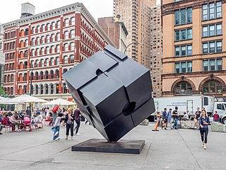 Tony Rosenthal American sculptor