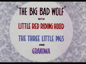 The Big Bad Wolf (film) - Image: The Big Bad Wolf