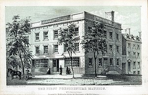 Samuel Osgood House - First Presidential Mansion, occupied by George Washington, April 1789 – February 1790