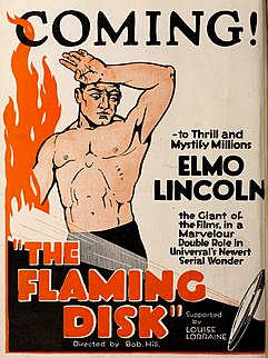 <i>The Flaming Disc</i> 1920 film by Robert F. Hill
