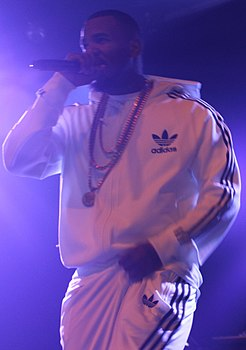 The Game in Adidas tracksuit.jpg