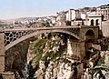 The Great Bridge in Constantine Algeria 1899.jpg