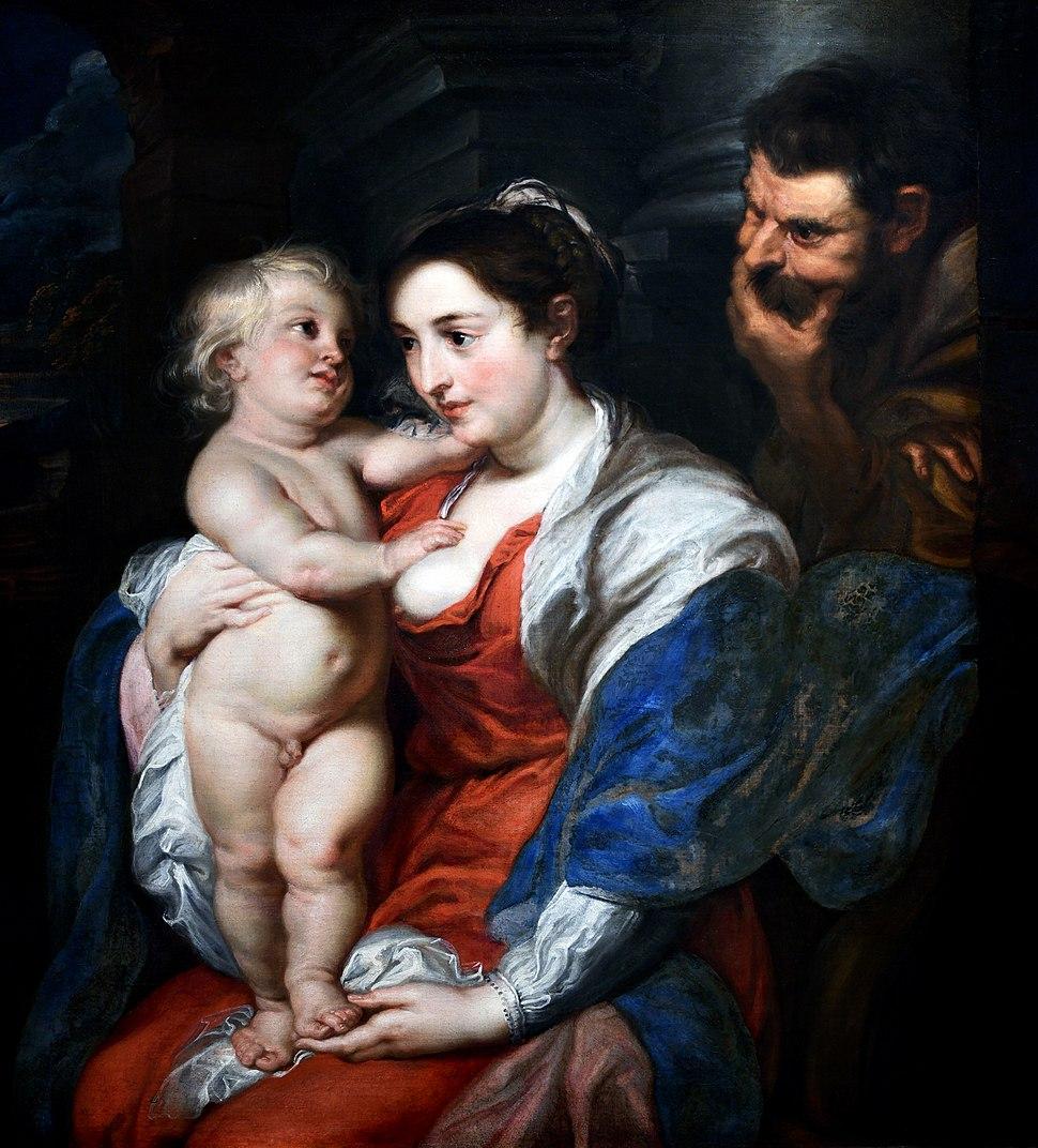The Holy Family - Rubens