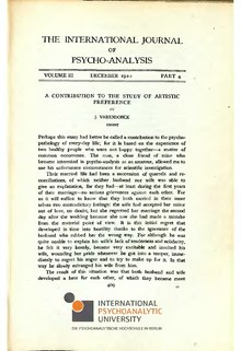 The International Journal of Psycho-Analysis III 1922 4.djvu