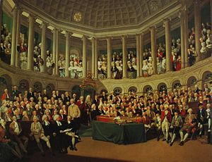 Francis Wheatley (painter) - The Irish House of Commons in 1780