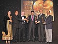The Minister of State (Independent Charge) for Tourism, Dr. K. Chiranjeevi receiving the World Travel Awards, at a function, in New Delhi on December 13, 2012.jpg