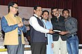 The Minister of State for Skill Development, Entrepreneurship, Youth Affairs and Sports (Independent Charge), Shri Sarbananda Sonowal felicitating the medal winners of Asian Games 2014 (2).jpg
