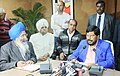 The Minister of State for Social Justice & Empowerment, Shri Ramdas Athawale addressing press conference, in Chandigarh on February 23, 2018.jpg