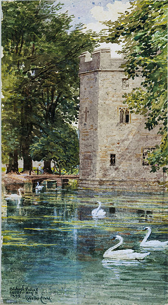 http://upload.wikimedia.org/wikipedia/commons/thumb/7/73/The_Moat_and_Bishop%27s_Palace%2C_Wells_Cathedral_%28Walter_Crane%2C_1893%29.jpg/331px-The_Moat_and_Bishop%27s_Palace%2C_Wells_Cathedral_%28Walter_Crane%2C_1893%29.jpg