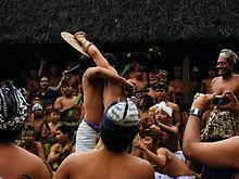 Perang pandan atau duri, salah satu acara adat Tenganan.