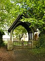 The Parish Church of St Kenelm's, Enstone, Lych Gate - geograph.org.uk - 1323883.jpg