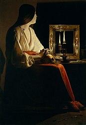 Georges de La Tour: The Penitent Magdalen