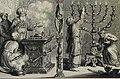 The Phillip Medhurst Picture Torah 478. The candlesticks and altar of incense. Exodus cap 39 vv 37-38. Mortier.jpg
