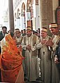 The President, Smt. Pratibha Devisingh Patil visited Umayyad Mosque, at Damascus in Syria on November 26, 2010.jpg