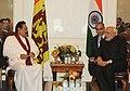 The President of Srilanka, Mr. Mahinda Rajapaksa meeting the Prime Minister, Shri Narendra Modi, in New York on September 27, 2014.jpg