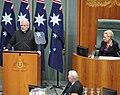 The Prime Minister, Shri Narendra Modi addressing the joint session of Parliament of Australia, at Parliament House, in Canberra, Australia on November 18, 2014.jpg