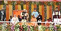The Prime Minister, Shri Narendra Modi attending the swearing-in ceremony of the new government of Uttar Pradesh, at Lucknow.jpg