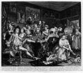 The Rake's Progress; Drinking and gambling. Wellcome M0008973.jpg