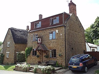 Horley, Oxfordshire - The Red Lion public house