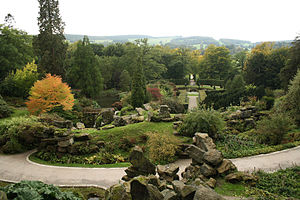 Rock garden - The Rockeries of Chatsworth House, England