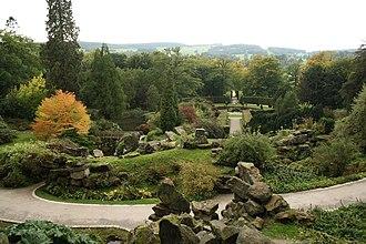 Rock garden - The Rockeries of Chatsworth House, England