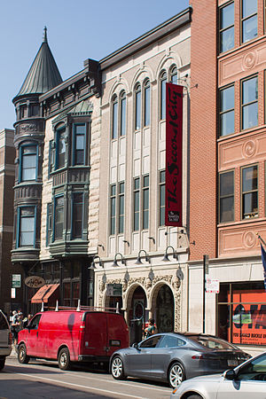 The Second City - Current location at 1616 North Wells Street in Chicago