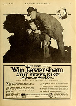 William Faversham - The Silver King (1919)