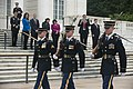 The Sophomore Class of the 114th Congress lays a wreath at the Tomb of the Unknown Soldier in Arlington National Cemetery (17318441113).jpg