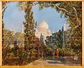 The Taj Mahal at Agra, North West India by Marianne North.jpg