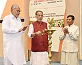The Union Minister for Agriculture and Farmers Welfare, Shri Radha Mohan Singh lighting the lamp to inaugurate the National Conference on Agriculture for Kharif Campaign-2017, in New Delhi.jpg