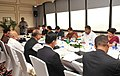 The Union Minister for Textiles, Dr. Kavuru Sambasiva Rao and the Minister of Textiles Bangladesh, Mr. Abdul Latif Siddique, at the delegation level talks, in New Delhi on August 19, 2013.jpg