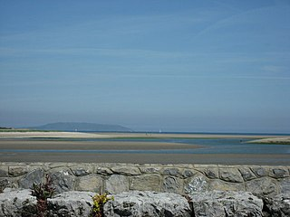 Baldoyle Bay Sea inlet and nature reserve north of Dublin, Ireland