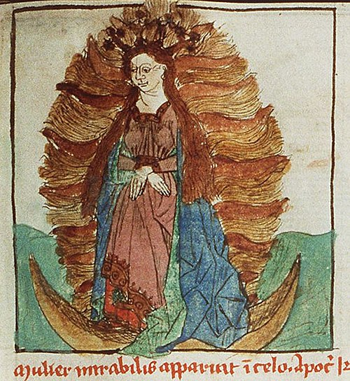 The Woman Clothed in the Sun (Speculum humanae salvationis)