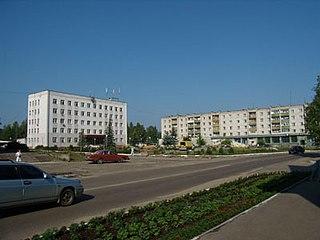 Kulebaki Town in Nizhny Novgorod Oblast, Russia