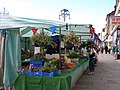 The first market stall on entering Stockton market - geograph.org.uk - 488305.jpg