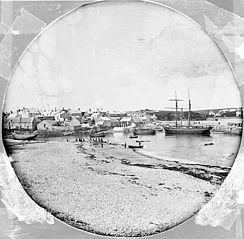 The harbour, Cemais (Mon)