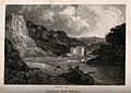 The hot wells including the harbour, Bristol. Etching by J. Wellcome V0012267.jpg