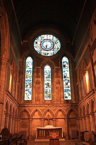 Govan Old Parish Church - The north window, Old Govan Parish Church