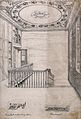 The staircase, and two details of the woodwork, at 49 Great Wellcome V0013435.jpg