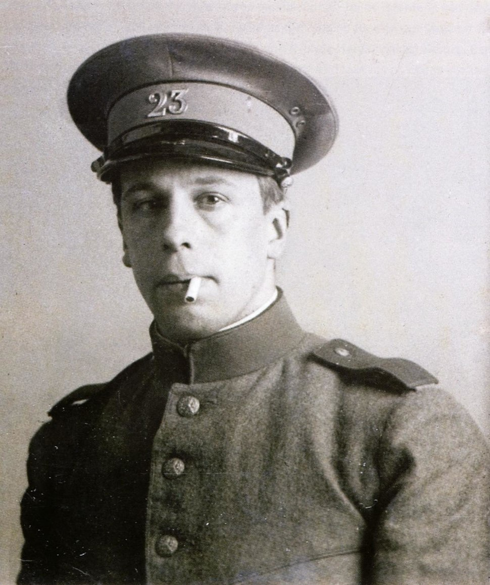 Theo van Doesburg in military service