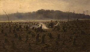 Theodoor Verstraete - The Stumps by Verstraete, c. 1890
