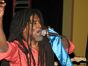 Music of Haiti - Image: Theodore Lolo Beabrun, Lead Singer